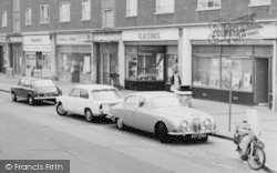 Chadwell St Mary, River View, Parade Of Shops c.1960