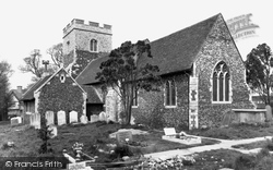 Chadwell St Mary, St Mary's Church c.1955