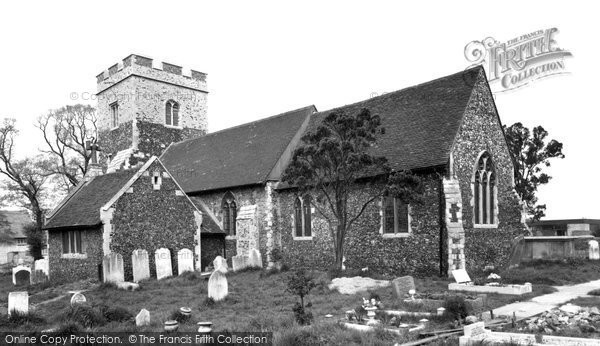 Chadwell St Mary, the Church c1955, Essex.  (Neg. C239006)  © Copyright The Francis Frith Collection 2005. http://www.francisfrith.com