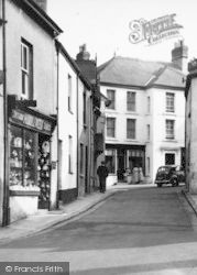 Chagford, Antiques Shop c.1951