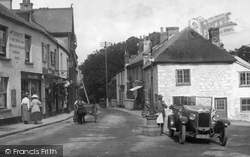 Car In The Square 1922, Chagford