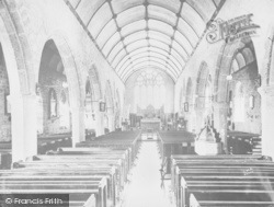 Chagford, Church Interior c.1930