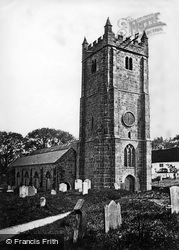 Chagford, Church Of St Michael The Archangel c.1870