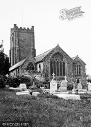 Chagford, Church Of St Michael The Archangel c.1935