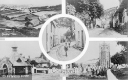 Chagford, Composite c.1930