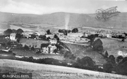 Chagford, From Chagford To Kestor Road c.1935