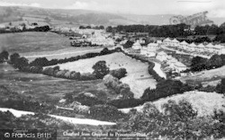 Chagford, From Chagford To Princetown Road c.1935