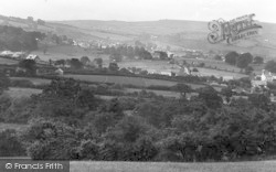 Chagford, From Moreton Hampstead To Chagford Road c.1935