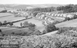 Chagford, General View 1951
