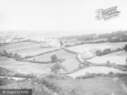 Chagford, General View c.1930