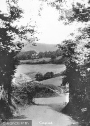 Chagford, General View c.1935