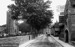 High Street 1922, Chagford