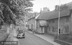 Chagford, High Street c.1951