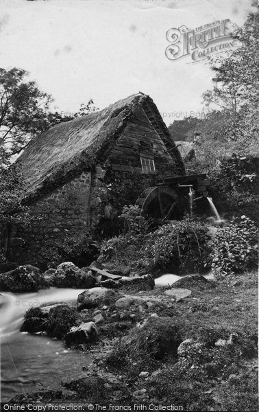 Photo of Chagford, Holy Street Mill c.1871