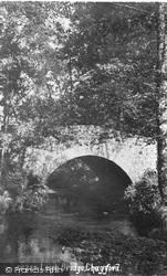 Leigh Bridge 1913, Chagford