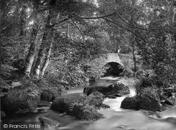 Leigh Bridge 1922, Chagford