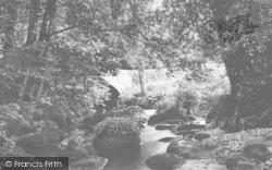 Chagford, Leigh Bridge c.1935
