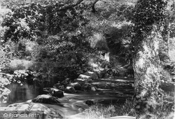 Chagford, Leigh Stepping Stones 1907