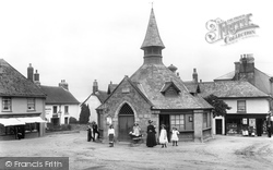 Chagford, Market Place 1906