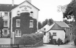Chagford, Mill Street 1951