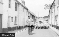 Chagford, New Street c.1965