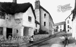 Chagford, Old House 1907