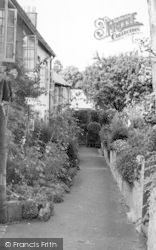 Chagford, Orchard Terrace 1951