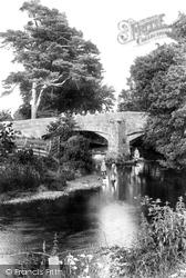 Chagford, Rushford Bridge 1907