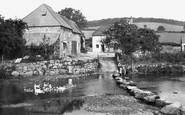 Chagford, Rushford Mill 1907