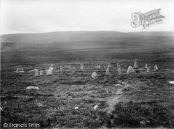 Scor Hill, Sacred Circle 1924, Chagford