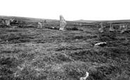 Chagford, Scor Hill, Sacred Circle showing Kestor 1924