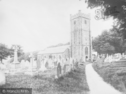 Chagford, St Michael's Church c.1930
