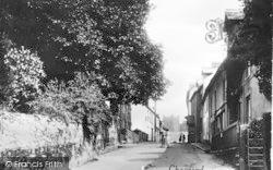 Chagford, Street Scene c.1935