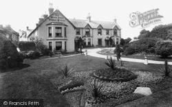 Chagford, The Moor Park Family Hotel 1907