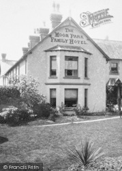 Chagford, The Moor Park Family Hotel 1907