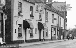 Chagford, The Ring O' Bells Hotel 1951