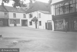 Chagford, The Square 1951
