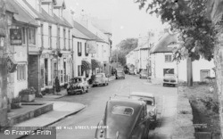 Chagford, The Square And Mill Street c.1965
