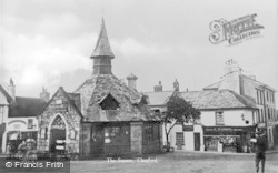 Chagford, The Square c.1930