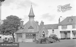 Chagford, The Square c.1951