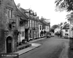 The Square c.1960, Chagford