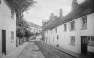 Chagford, the Street 1922