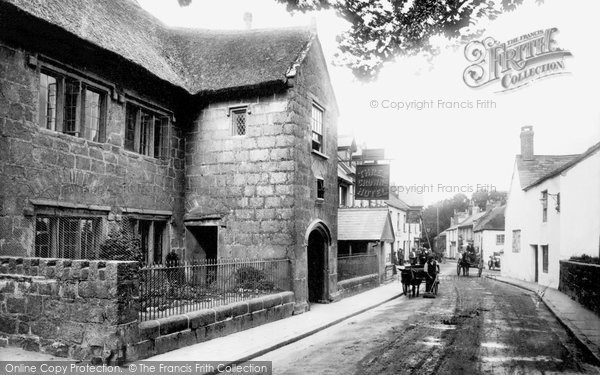 Chagford, the Three Crowns 1922