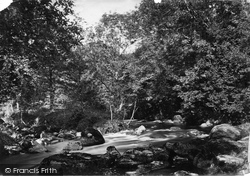 Chagford, Watersmeet c.1871
