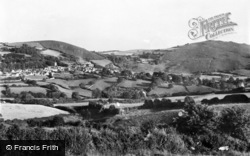Chagford, With Nattadon And Meldon Hills c.1955