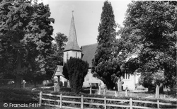 Chaldon, Church Of St Peter And St Paul (Ad1086) c.1960