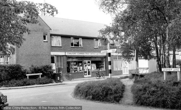 Photo of Chalfont Common, Post Office c.1965