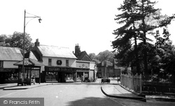 Chalfont St Peter, High Street c.1950
