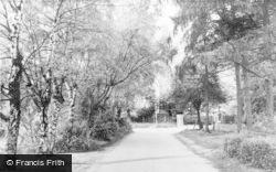 Chalfont St Peter, Monument Lane c.1960