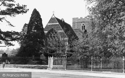 Chalfont St Peter, St Peter's Parish Church c.1955